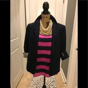 The Limited Cami - Fun Pink n Navy Stripes